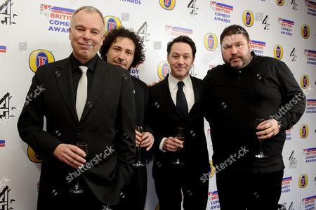 Editorial image of British Comedy Awards, London, Britain - 12 Dec 2013