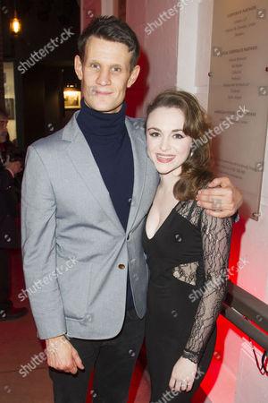 Matt Smith and Cassandra Compton