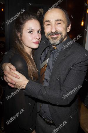 Stock Image of Florence Roberts and Simon Gregor