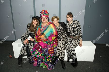 Charlotte Colbert, Camila Batmanghelidjh, Alix Janta and Lauren Jones