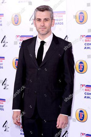 Editorial image of British Comedy Awards 2013, Fountain Studios, London, Britain - 12 Dec 2013