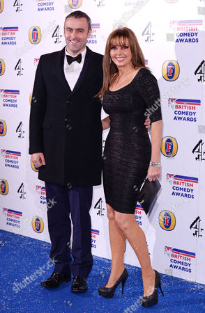 Stock Picture of Graham Duff and Carol Vorderman