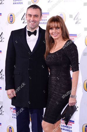 Stock Photo of Graham Duff and Carol Vorderman