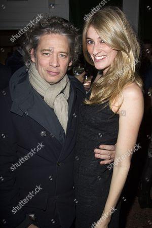 Dexter Fletcher and Francesca Zampi