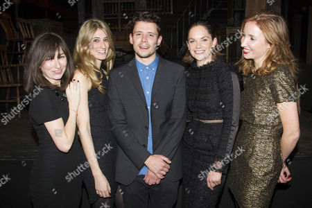 Lucy Chaloner, Francesca Zampi, Sam Yates, Ruth Wilson and Alice Russell