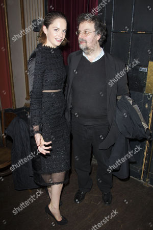 Ruth Wilson and Stephen Poliakoff