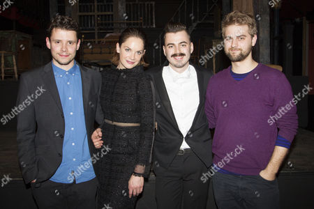 Stock Image of Sam Yates, Ruth Wilson, Richard Kent and Alex Baranowski