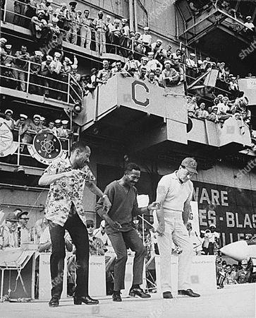 BOB HOPE ENTERTAINS ON THE USS TICONDEROGA