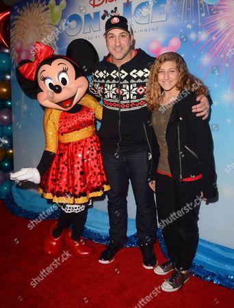 Minnie Mouse, Joey Fatone, Briahna Fatone