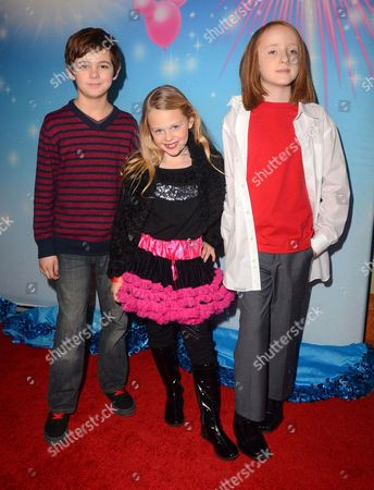 Editorial image of Disney on Ice presents Rockin' Ever After, Los Angeles, America - 12 Dec 2013