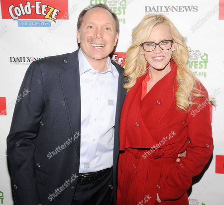 Stock Image of Ted Karkus and Jenny McCarthy