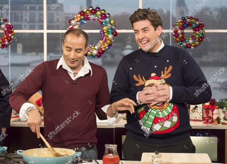 Editorial picture of 'This Morning' TV Programme, London, Britain - 13 Dec 2013