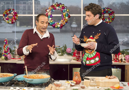 Stock Picture of Reza Mahammed and James Argent