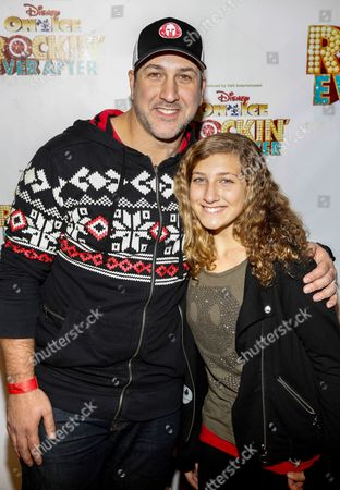 Joey Fatone and Briahna Fatone