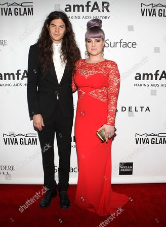 Matthew Mosshart and Kelly Osbourne