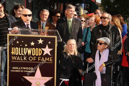Mel Brooks, Betsy Mazursky, Paul Mazursky