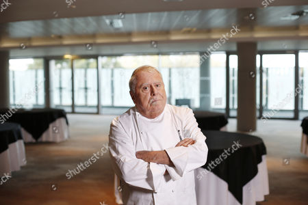 Albert Roux in the Aviva Stadium restaurant
