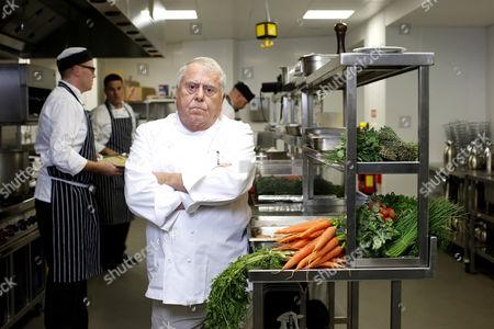 Albert Roux in the Aviva Stadium kitchens