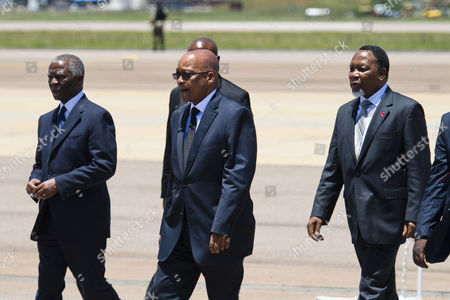 President Jacob Zuma, Thabo Mbeki and Kgalema Motlanthe