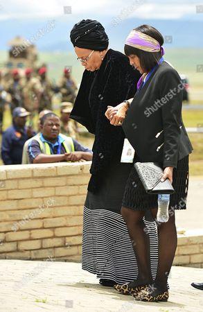 Graca Machel and Ndileka Mandela