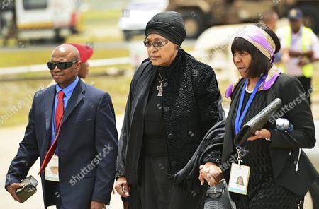Winnie Madikizela-Mandela and Ndileka Mandela