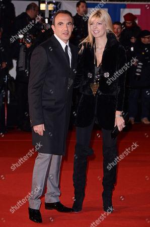 Tina Grigoriou and Nikos Aliagas