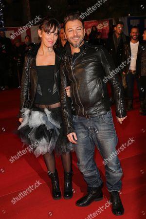 Christophe Mae and his wife Nadege
