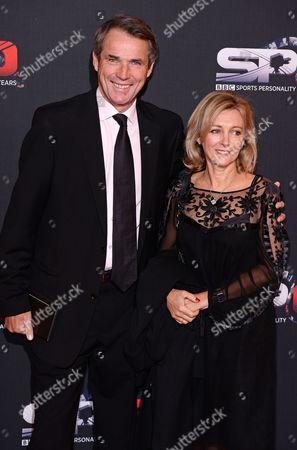 Alan Hansen and wife Janet Hansen