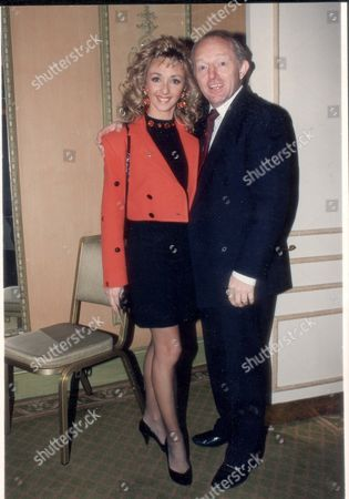 Paul Daniels And Wife Debbie Mcgee At The Wedding Of Liza Minnelli And Billy Stritch.