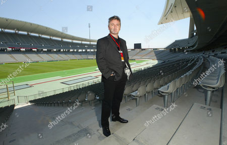 Des Kelly Daily Mail Writer At The Ataturk Olympic Stadium Which Is Hosting The Champions League Final Between Liverpool And Ac Milan On The 25/05/05.