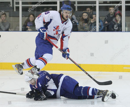 Liam Stewart scores his first goal for Great Britain playing against France