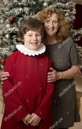 Jack Topping with his mother