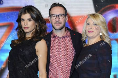 Editorial picture of 'Zelig 1' TV show photocall, Milan, Italy - 16 Dec 2013