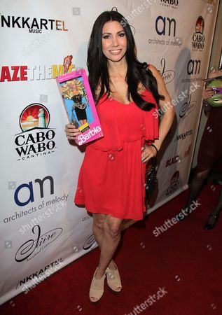 Editorial image of Britticares Toy Drive, Los Angeles, America - 15 Dec 2013
