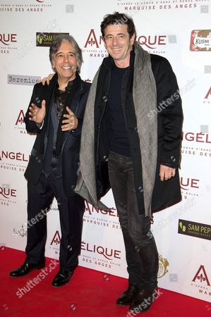 Stock Photo of Patrick Bruel and director Ariel Zeitoun