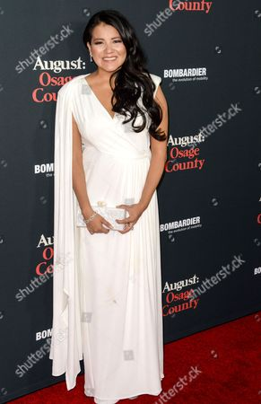 Editorial picture of 'August: Osage County' film premiere, Los Angeles, America - 16 Dec 2013