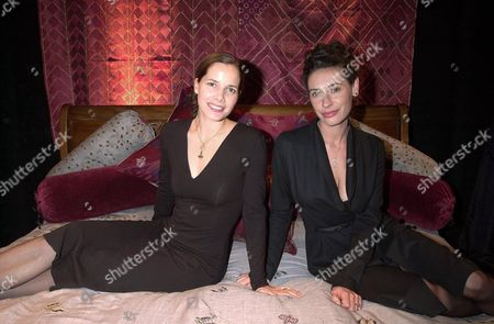 DARCEY BUSSELL AND LINDSAY TAYLOR, HER BUSINESS PARTNER.