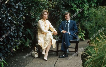 PRINCESS GRACE OF MONACO AND RUSSELL HARTY - 1986