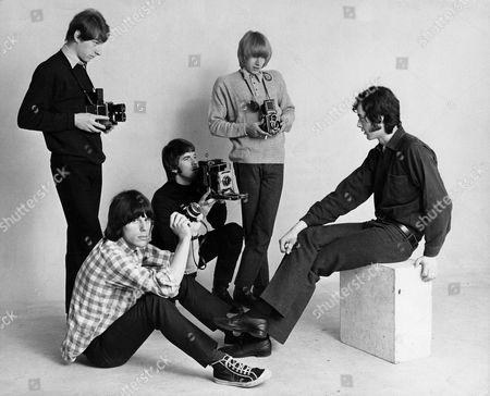 The Yardbirds -  Chris Dreja, Jeff Beck, Jim McCarthy, Keith Relf and Jimmy Page