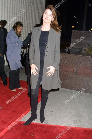 """Stephanie Romanov (""""Angel"""") at the premiere of Dimension Films' """"Imposter"""" at the GCC Avco Cinema in Westwood, California on December 4, 2001.  Westwood, California.  Photo ® Matt Baron/BEI"""
