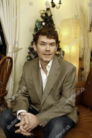 Gary Mckinnon Will Not Be Prosecuted Here In The Uk. Gary Is Pictured In Brookmans Park Herts Today After The Announcement That He Will Not Be Prosecuted In The Uk.