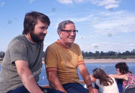 British Spy Kim Philby (died 11/5/1988) In Russia With His Son John Philby.