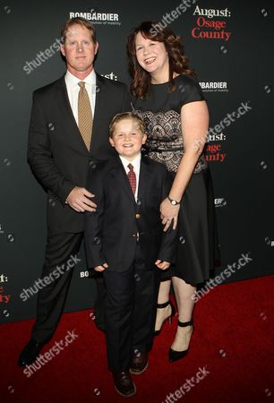 Stock Photo of Will Coffey and family