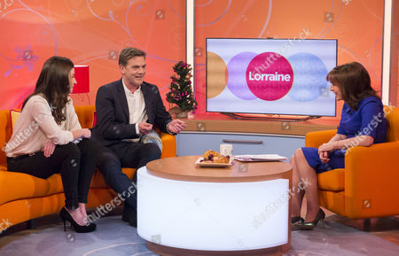 Camilla Afwedson and John Michie with Lorraine Kelly