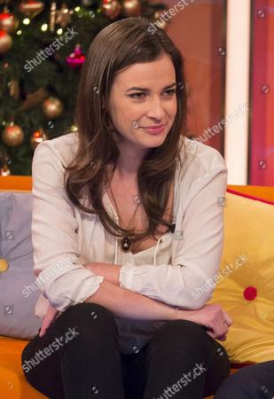 Editorial picture of 'Lorraine Live' TV Programme, London, Britain - 17 Dec 2013