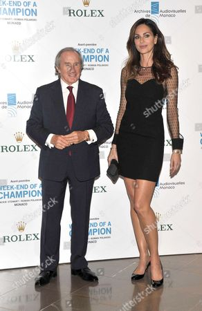 Sir Jackie Stewart and Tasha de Vasconcelos