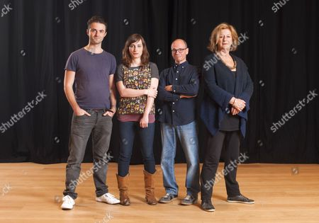 'Listen, We're Family' cast - Tom Berish, Isy Suttie, Kerry Shale and Maggie Steed