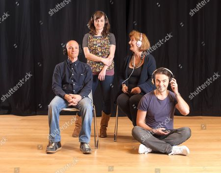 'Listen, We're Family' cast - Kerry Shale, Isy Suttie, Maggie Steed and Tom Berish