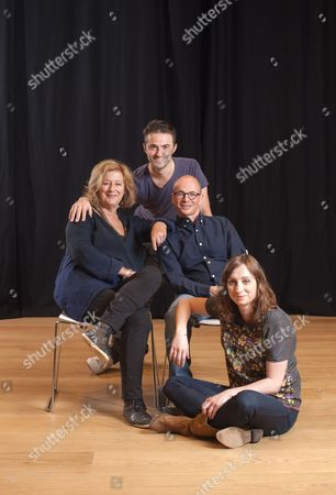 'Listen, We're Family' cast - Maggie Steed, Tom Berish, Kerry Shale and Isy Suttie