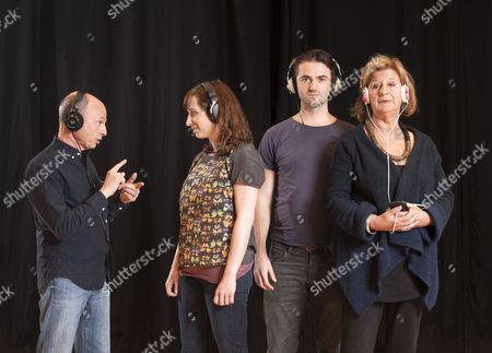'Listen, We're Family' cast - Kerry Shale, Isy Suttie, Tom Berish and Maggie Steed